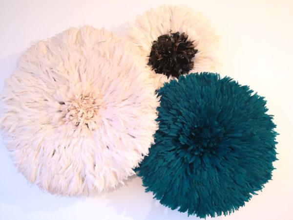 Juju hat blanc et coeur nuancé