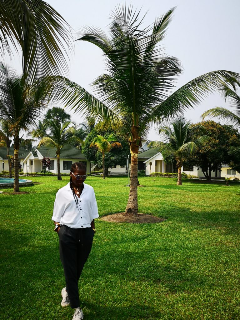 Stéphanie au Congo